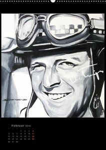 Unvergessene Motorsportlegenden, 12 Gemälde