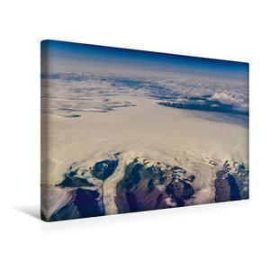 Premium Textil-Leinwand 45 cm x 30 cm quer Grönlands Ostküste