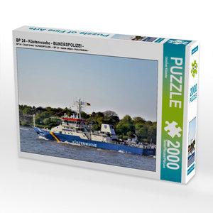 CALVENDO Puzzle BP 24 - Küstenwache - BUNDESPOLIZEI - 2000 Teile