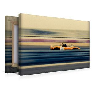 Premium Textil-Leinwand 45 cm x 30 cm quer High Speed racing