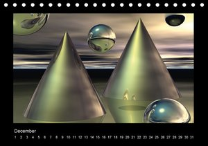 The third dimension (Table Calendar perpetual DIN A5 Landscape)