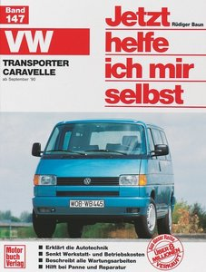 VW Transporter VW Caravelle ab September'90. Jetzt helfe ich mir