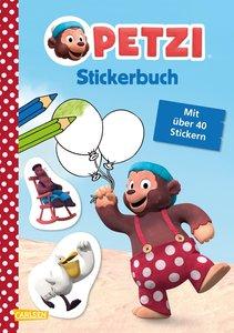 Petzi: Stickerbuch