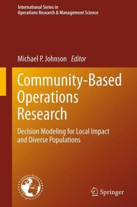 Community-Based Operations Research