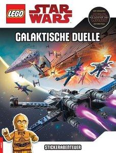 LEGO® Star Wars(TM) - Stickerabenteuer - Galaktische Duelle