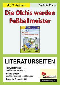 Die Olchis werden Fußballmeister / Literaturseiten
