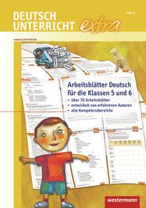 Deutschunterricht extra. Arbeitsblätter Deutsch für die Klassen