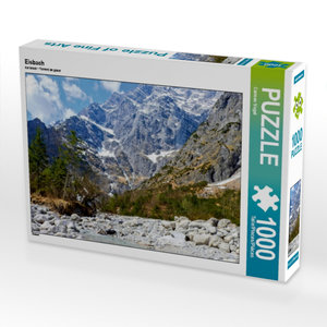 Eisbach 1000 Teile Puzzle quer