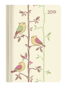 Mini-Buchkalender Style Twitter 2019