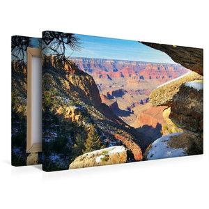 Premium Textil-Leinwand 45 cm x 30 cm quer Grand Canyon South Ri