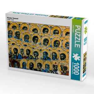 Kloster Voronet 1000 Teile Puzzle quer