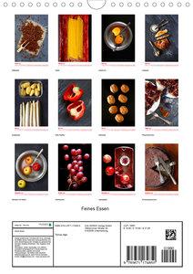 Feines Essen (Wandkalender 2020 DIN A4 hoch)