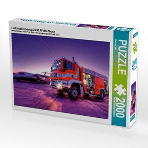 Tanklöschfahrzeug 24/50 FF BS-Thune 2000 Teile Puzzle quer
