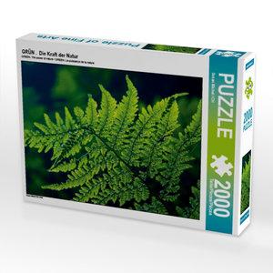 GRÜN . Die Kraft der Natur 2000 Teile Puzzle quer