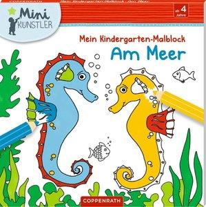 Mein Kindergarten-Malblock: Am Meer