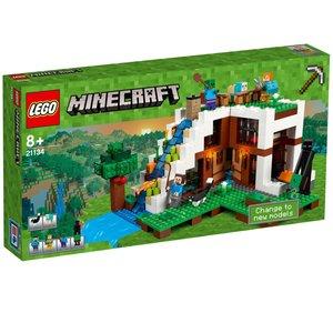 LEGO® 21134 - Minecraft, Unterschlupf im Wasserfall