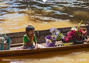 Lebensraum Inle-See in Myanmar (Wandkalender 2019 DIN A3 quer)