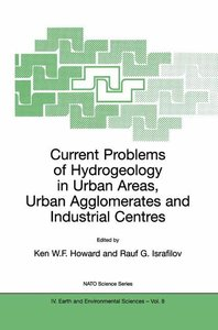 Current Problems of Hydrogeology in Urban Areas, Urban Agglomera