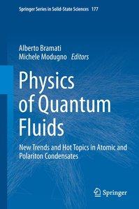 Physics of Quantum Fluids