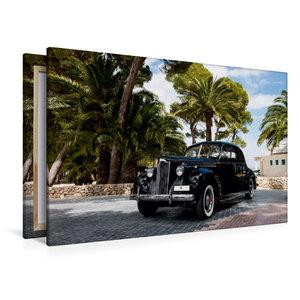 Premium Textil-Leinwand 120 cm x 80 cm quer Packard 120