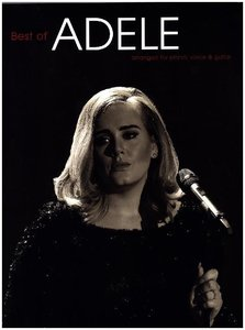 Adele Best Of (Piano Voice Guitar Book Updated Edition)