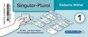 Meine Grammatikdose 1 - Singular-Plural - Einfache Wörter