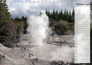 Vulkanisches und Geothermisches - Neuseeland (Tischkalender 2019