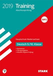 Training Abschlussprüfung Hauptschule Niedersachsen 2019 - Deuts