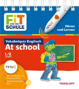 Ting: Vokabelquiz Englisch. At school