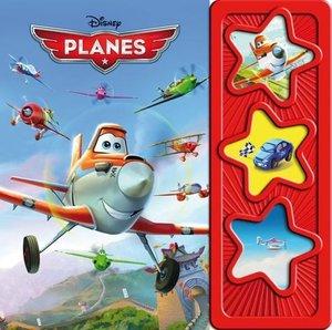 Planes 3-Button-Soundbuch, wattiert