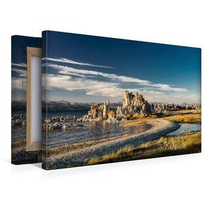 Premium Textil-Leinwand 45 cm x 30 cm quer Mono Lake