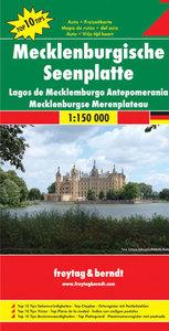 Mecklenburgische Seenplatte 1 : 150 000. Auto- und Freizeitkarte
