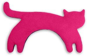 Wärmekissen, Die Katze Minina, groß. Fellfarbe: Flamingo / Mitte