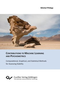 Contributions to Machine Learning and Psychometrics