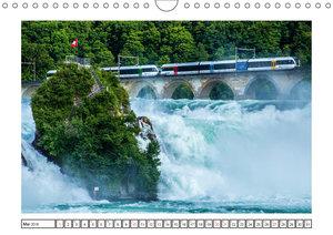 Rheinfall in Schaffhausen - Ein Naturschauspiel