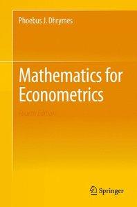 Mathematics for Econometrics