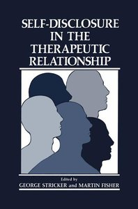 Self-Disclosure in the Therapeutic Relationship