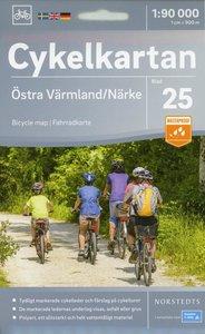Radwanderkarte 25 Östra Värmland 1:90 000