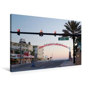 Premium Textil-Leinwand 90 cm x 60 cm quer Daytona Beach