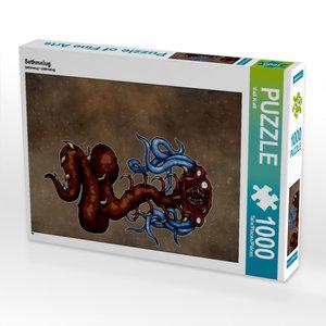 Sethmelug 1000 Teile Puzzle hoch