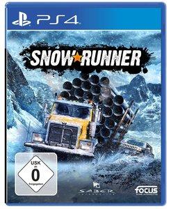 SnowRunner, 1 PS4-Blu-ray Disc (Standard Edition)