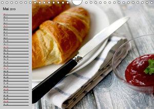 Die Küche. Ort der Gaumenfreuden (Wandkalender 2019 DIN A4 quer)