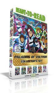 Paladins of Voltron Collector\'s Set (with More Than 30 Stickers