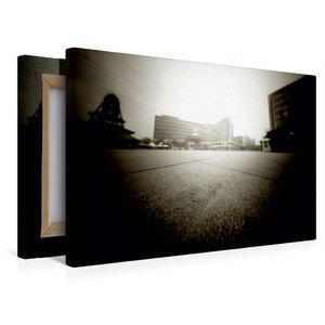 Premium Textil-Leinwand 45 cm x 30 cm quer Alexanderplatz