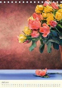 Blumen - die schönste Sprache der Welt (Tischkalender 2019 DIN A