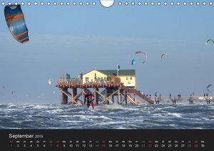 Sankt Peter Ording (Wandkalender 2019 DIN A4 quer)