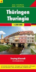Deutschland 6 Thüringen 1 : 200 000