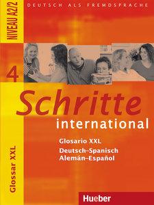 Schritte international 4. Glosario XXL Deutsch-Spanisch - Alemán