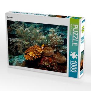 Korallen 1000 Teile Puzzle quer