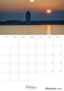 Grüße aus der Schleistadt Schleswig (Wandkalender 2019 DIN A3 ho